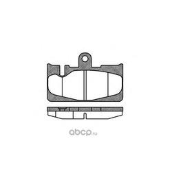 Комплект тормозных колодок, дисковый тормоз (Remsa) 088900