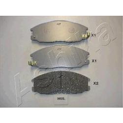 Комплект тормозных колодок, дисковый тормоз (Ashika) 50H0005