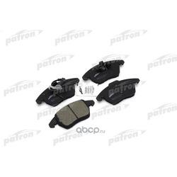 Колодки тормозные дисковые передние (PATRON) PBP1641