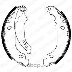 Комплект тормозных колодок (Delphi) LS1844