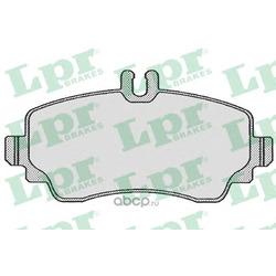 Комплект тормозных колодок, дисковый тормоз (Lpr) 05P671