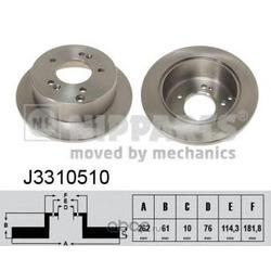 Тормозной диск (Nipparts) J3310510