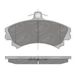 Колодки торм.FR (SCT) SP602