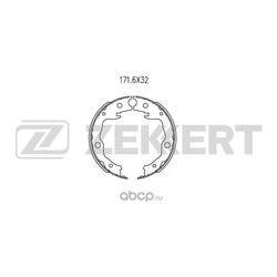 Колодки торм. бараб. (Zekkert) BK4043