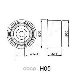 Устройство для натяжения ремня, ремень ГРМ (Ashika) 450H005