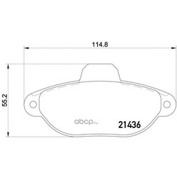 Колодки тормозные дисковые TEXTAR (Textar) 2143603