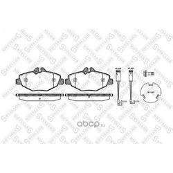 Комплект тормозных колодок, дисковый тормоз (Stellox) 1001002SX