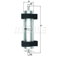 Топливный фильтр (Mahle/Knecht) KL916