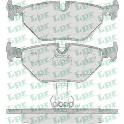 Комплект тормозных колодок, дисковый тормоз (Lpr) 05P650