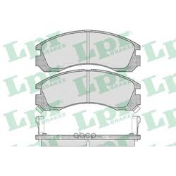 Комплект тормозных колодок, дисковый тормоз (Lpr) 05P578