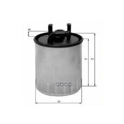 Топливный фильтр (Mahle/Knecht) KL1002