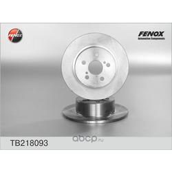 Тормозной диск (FENOX) TB218093