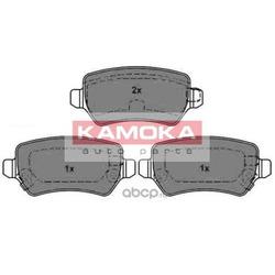 Комплект тормозных колодок, дисковый тормоз (KAMOKA) JQ1013042