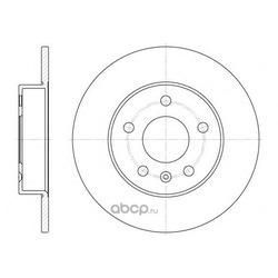 Тормозной диск (Remsa) 657800
