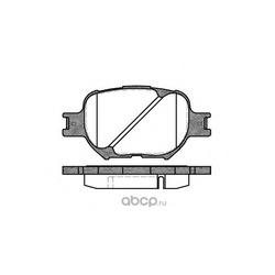 Комплект тормозных колодок, дисковый тормоз (Remsa) 074200