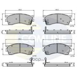 Комплект тормозных колодок, дисковый тормоз (Comline) CBP3326