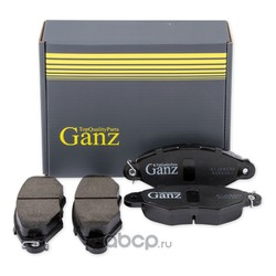Колодки передние RENAULT CITROEN PEUGEOT NISSAN (GANZ) GIJ09032