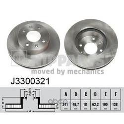 Тормозной диск (Nipparts) J3300321