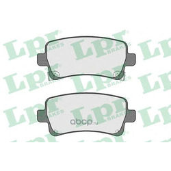 Комплект тормозных колодок, дисковый тормоз (Lpr) 05P1584