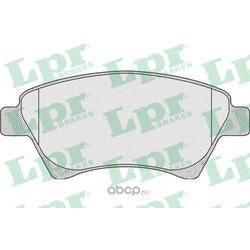 Комплект тормозных колодок, дисковый тормоз (Lpr) 05P911