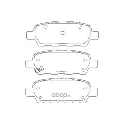 Колодки тормозные дисковые, комплект (Mintex) MDB2261