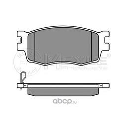 Комплект тормозных колодок, дисковый тормоз (Meyle) 0252431717W