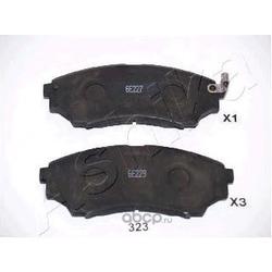 Комплект тормозных колодок, дисковый тормоз (Ashika) 5003323