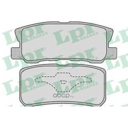 Комплект тормозных колодок, дисковый тормоз (Lpr) 05P954