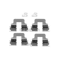 Комплектующие, колодки дискового тормоза (Bosch) 1987474316