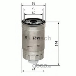 Фильтр топливный (Bosch) 1457434516