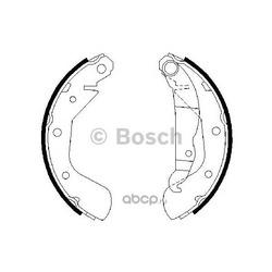 Комплект тормозных колодок (Bosch) 0986487613