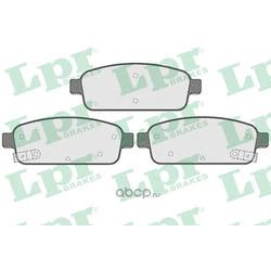 Комплект тормозных колодок, дисковый тормоз (Lpr) 05P1575