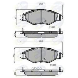 Комплект тормозных колодок, дисковый тормоз (Comline) CBP01131