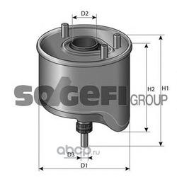 Фильтр топливный (PURFLUX) CS762