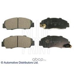 Комплект тормозных колодок, дисковый тормоз (Blue Print) ADH24246