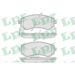 Колодки тормозные, комплект, задние (Lpr) 05P856