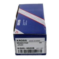 КОЛОДКИ ТОРМОЗНЫЕ ПЕРЕДНИЕ (Kross) KG0500028
