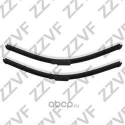 Щетки стеклоочистителя переднего (комплект - 2 шт.) (ZZVF) ZVF00T