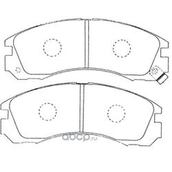 Колодки тормозные дисковые (FIT) FP0530