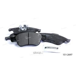 Тормозные колодки дисковые передние (Ween) 1512697