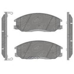 Колодки торм.FR (SCT) SP649