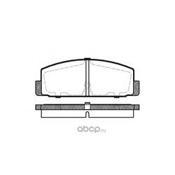 Комплект тормозных колодок, дисковый тормоз (Road house) 217930