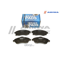 КОЛОДКИ ТОРМОЗНЫЕ ДИСКОВЫЕ ПЕРЕДНИЕ (Amiwa) CD01570