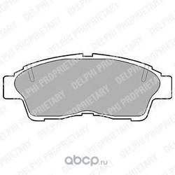 Комплект тормозных колодок, дисковый тормоз (Delphi) LP789