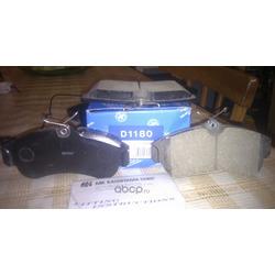 Колодки тормозные дисковые, комплект (Kashiyama) D1180