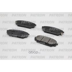 Колодки тормозные дисковые передн HYUNDAI: VERACRUZ 07-09, IX55 07- (произведено в Корее) (PATRON) PBP115KOR