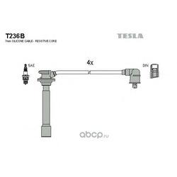 Комплект высоковольтных проводов (TESLA) T236B