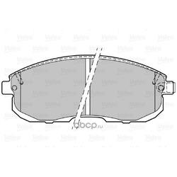 Комплект тормозных колодок (Valeo) 301011