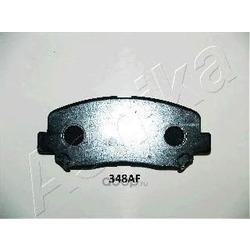 Колодки тормозные дисковые передние, комплект (Ashika) 5003348