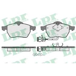 Комплект тормозных колодок, дисковый тормоз (Lpr) 05P453